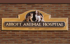 Abbott Animal Sign
