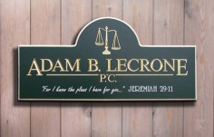 Adam B. LeCrone Law Office Sign