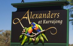 Alexanders Hospitality Sign