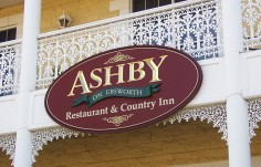 Ashby Hotel Sign