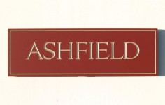 Ashfield Property Sign