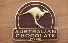 Australian Chocolate Company Sign