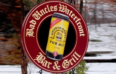 Bad Uncle's Bar & Grill Pub Sign