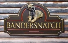 Bandersnatch Animal Sign