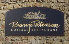 Banjo Paterson Restaurant Sign