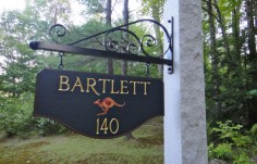 Bartlett Property Sign