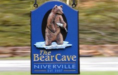 Bear Cave Wildlife Sign