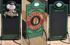 Belle Meade Sidewalk Signs