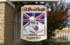 Bentley's Pub Sign
