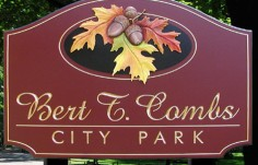 Bert T. Combs Sign