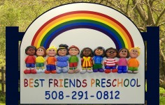 Best Friends Day Care Sign