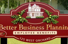 Better Business Planning Accountant Sign
