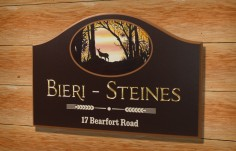 Bieri Steines Family Name Sign