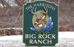 Big Rock Ranch Sign