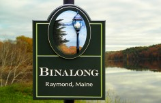 Binalong Lake House Sign