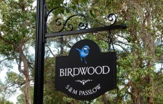 Birdwood Property Sign