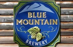 Blue Mountain Pub Sign