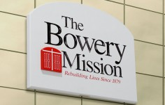 The Bowery Mission Sign