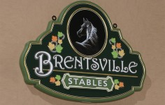 Brentsville Stables Horse Sign