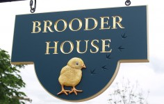 Brooder House Name Sign
