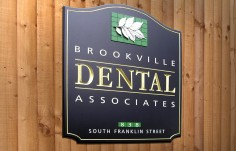 Brookville Dental Office Sign