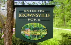 Brownsville Welcome EntranceSign
