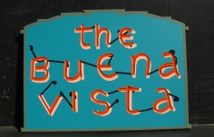 The Buena Vista Cottage Sign