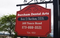 Burcham Dental Office Sign Thumb