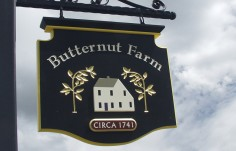 Butternut Farm Sign