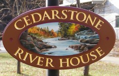 Cedarstone Country Sign