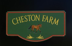 Cheston Farm Property Sign