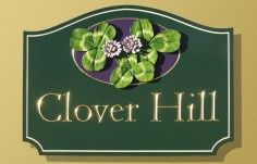 Clover Hill House Sign