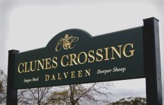Clunes Crossing Farm Sign | Danthonia Designs