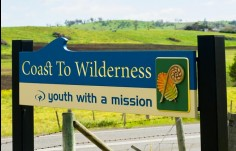 Coast to Wilderness Church Sign