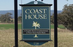 Coast House Subdivision Sign