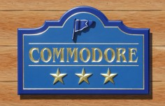 Commodore Hotel Business Sign