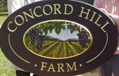 Concord Hill Farm Sign