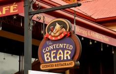 Contented Bear Sign 2