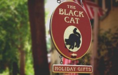 The Black Cat Retail Sign