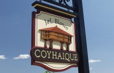 Coyhaique Hanging Sign