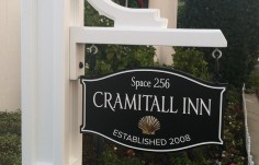 Cramitall Inn House Sign on Site