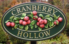 Cranberry Hollow Property Sign