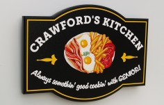 Crawford's Kitchen House Sign