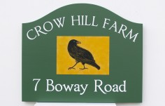 Crow Hill Farm Sign