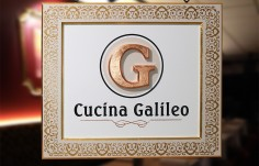 Cucina Galileo Restaurant Sign