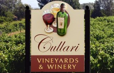 Cullari Winery Sign