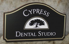 Cypress Dental Office Sign