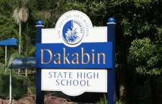 Dakabin School Welcome Sign