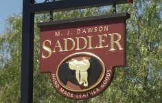Dawson Saddler Business Sign
