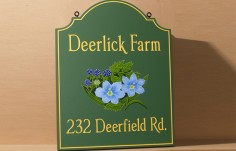 Deerlick Farm Sign